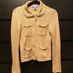 Sweaters - 🔥Price Drop🔥 White + Warren 100% Cotton Sweater